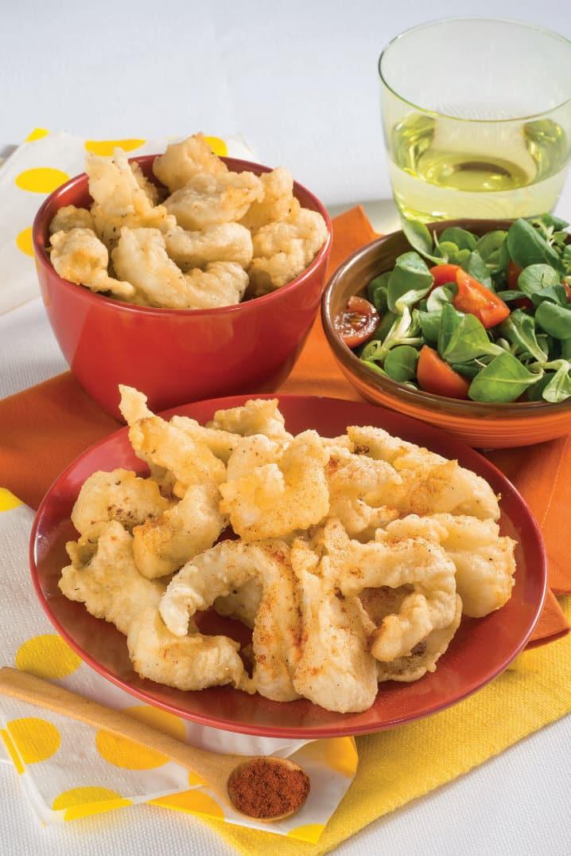 Ricetta dei Filetti di halibut (o sogliola) fritti in pastella