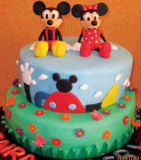 Castello, giostra e Topolino: qual è la vostra torta preferita?