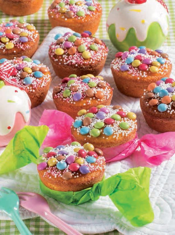 Muffin caramella con yogurt, mandorle e Strega