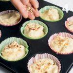 Muffin alle mele con farina di nocciole, senza glutine