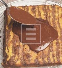 Orange line: torta marmorizzata all'arancia e cacao