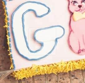 Torta Abbecedario: ideale per il compleanno dei bimbi