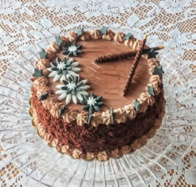 Torta Chocoflower con Nutella e mascarpone