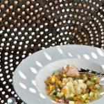Gnocchetti al parmigiano con minestra tiepida di verdure