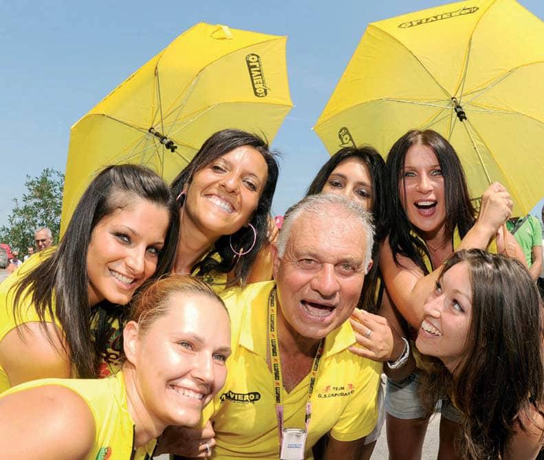 Gran premio Capodarco, il podio a Mattia Cattaneo