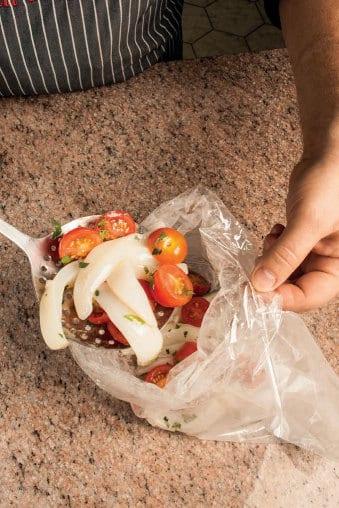 Seppie piccanti con pomodorini: la ricetta illustrata