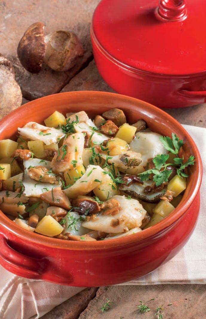 Baccala Con Funghi E Patate Il Pesce In Versione Invernale Chef Di Cucina Magazine