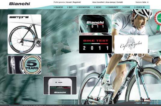 Centro Maipei, biciclette Bianchi e… siti per chi ama il ciclismo