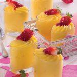 Bicchierini di crema al limone: idea per buffet di dolci