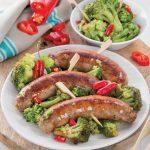 Salsiccia con broccoletti piccanti: il secondo che piace a tutti!
