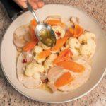 Ricetta delle Scaloppine di maiale con verdure agrodolci