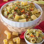 Minestrone di verza e fagioli fatto in casa con la pasta
