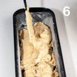 Plum cake integrale con castagne,fichi e ananas disidratati
