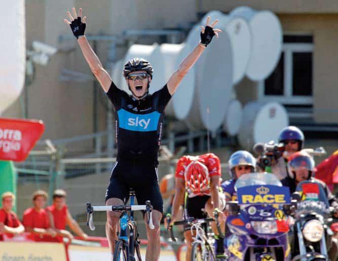 L'africano Volante: Christopher Froome conquista la Vuelta