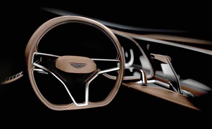 The Aston Martin AM37