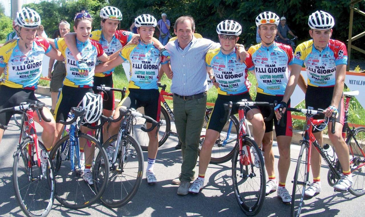 Team F.lli Giorgi, Zanetti conquista il primo podio del 2011