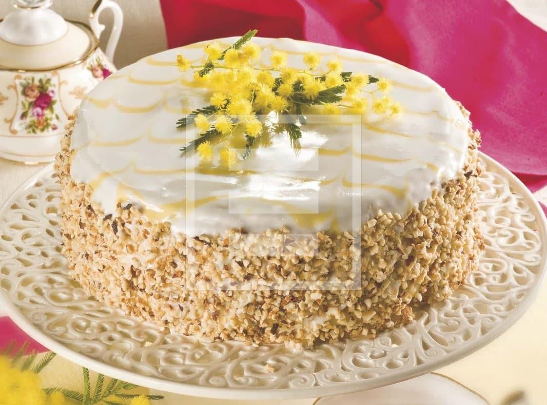 Ricetta della Torta glassata con liquore all'arancia