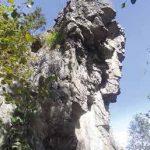 Arrampicata fino al monolito di Richiaglio: il percorso