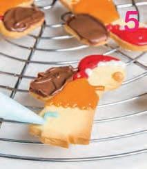 Biscotti della Befana farciti con il cioccolato