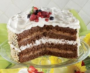 Torta Mississipi cocco, cioccolato, caffè e whisky