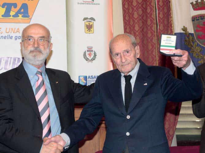 Alfredo Martini nominato Ambasciatore della sicurezza nel ciclismo