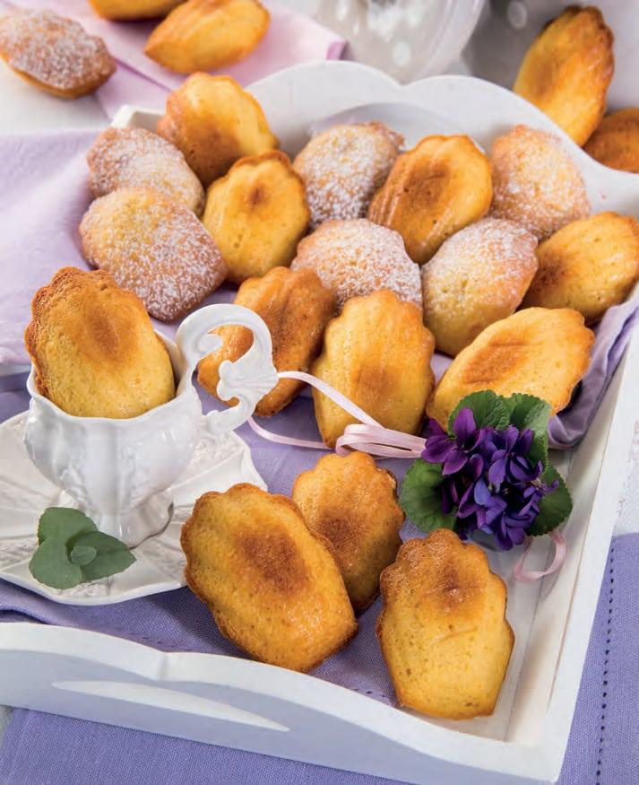 Ricetta delle madeleine, biscotti francesi a forma di conchiglia