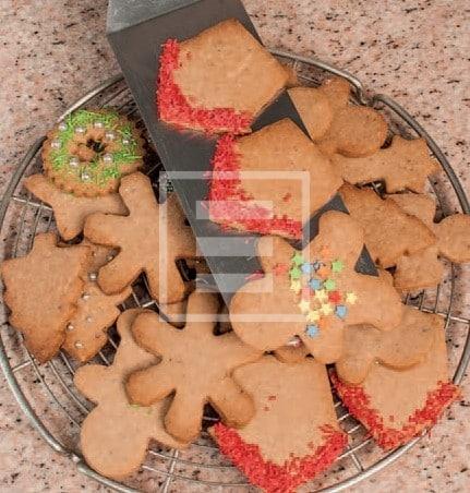Dolci Natalizi: Ghirlanda golosa di biscotti