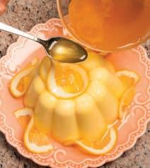Budini all'arancia, cannella e olio di mandorle