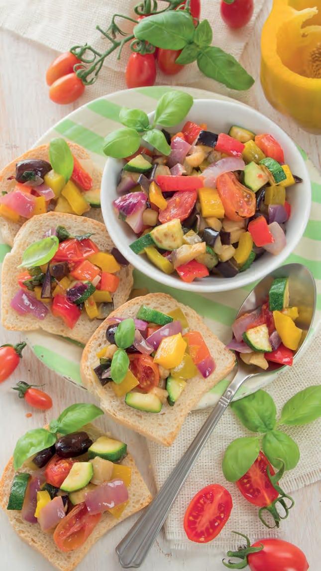 ricetta della Caponata di verdure velocissima