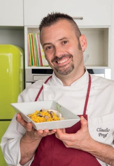 Tagliatelle ai funghi porcini: la ricetta dello chef Claudio Pregl