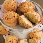 Muffin alle nocciole e cioccolato senza glutine