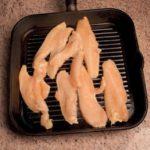 Insalata di pollo con fagiolini e asparagi