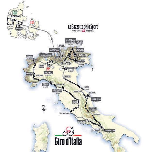 Giro d'Italia 2012, poche emozioni e pochissimi campioni