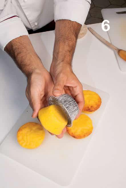 Tortini di Parmigiano Reggiano e aceto balsamico