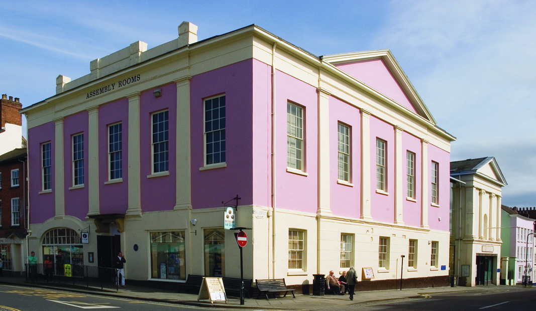 Assembly Rooms, in Mill Street, Ludlow in Shropshire