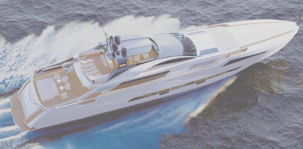 Pershing 140: la nuova ammiraglia in alluminio, firmata De Simoni