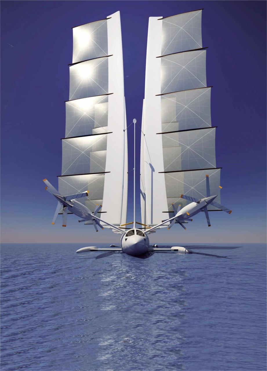 Hydravion: il trimarano che si trasforma in aereo