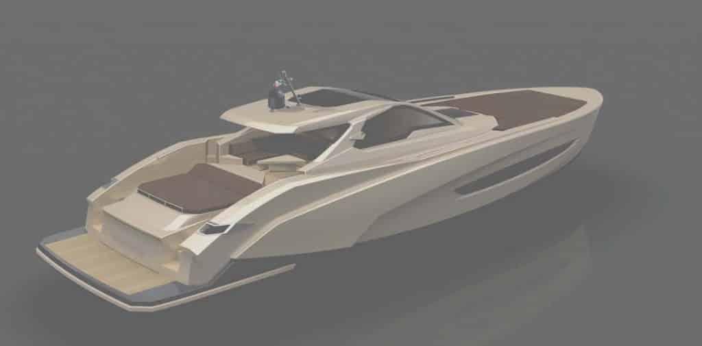 Luca Dini firma Askari 657, l'ultima novità del Cantiere Navale Italia
