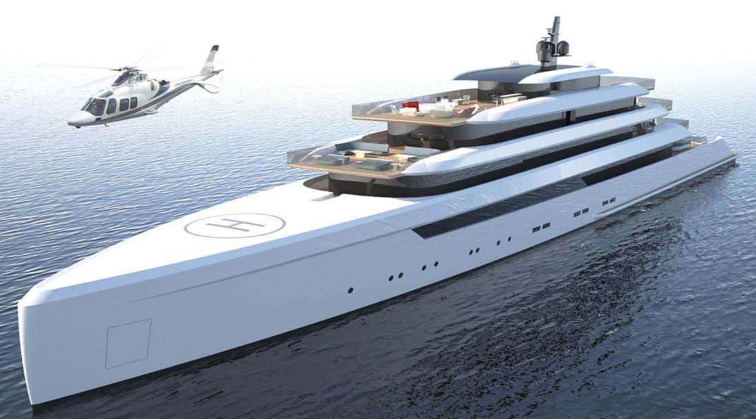 120 Open, il mega yacht con la suite... immersa nel mare