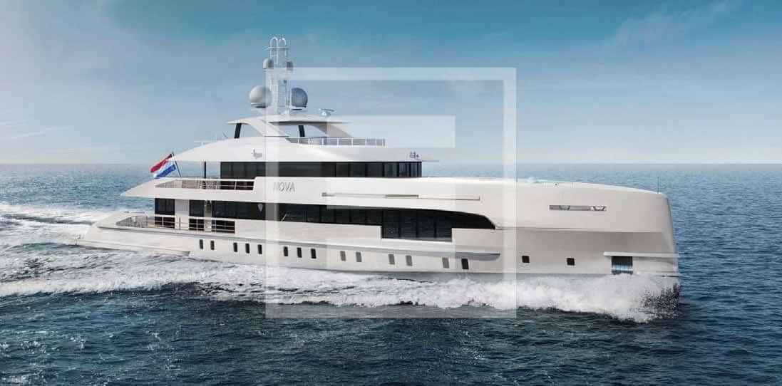 Project Nova di Heesen Yachts
