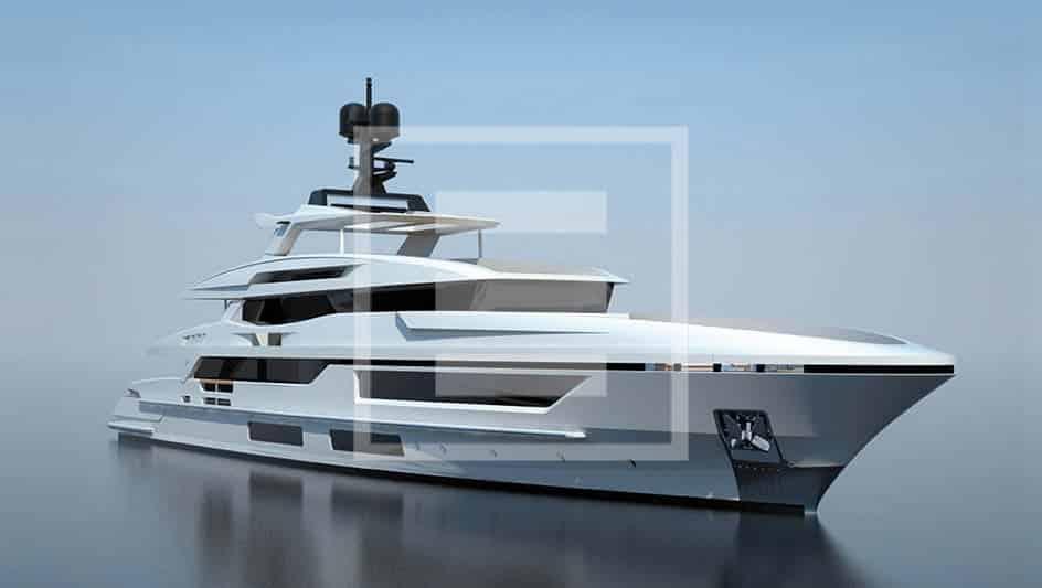Lo yacht 48 metri di Baglietto