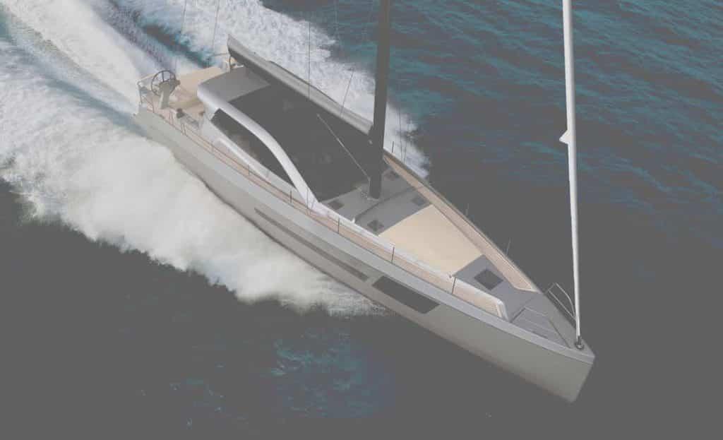 BD56: lo yacht che può andare a vela oppure a motore