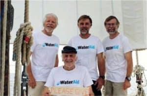 Anthony Smith e tre allegri compagni in zattera sull'Oceano Atlantico