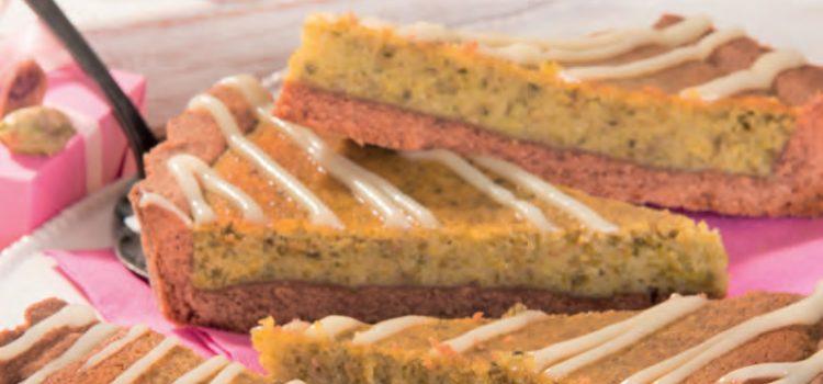 Crostata farcita al pistacchio