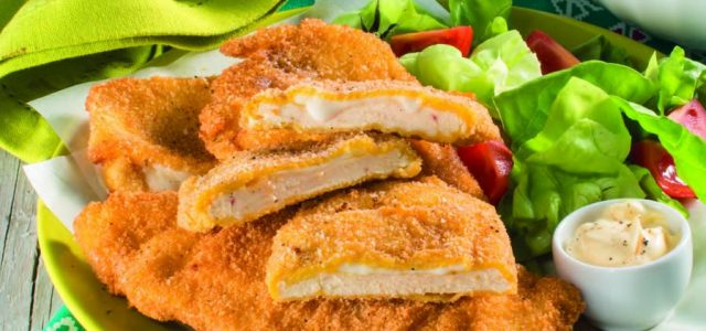 Cotolette di pollo al formaggio
