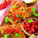 S'anguli e cibudda (pizza sarda) al pecorino sardo