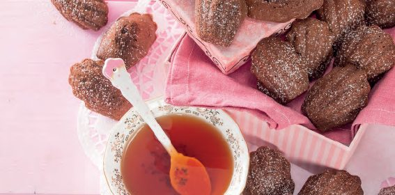 Madeleine al cacao: ricetta facile