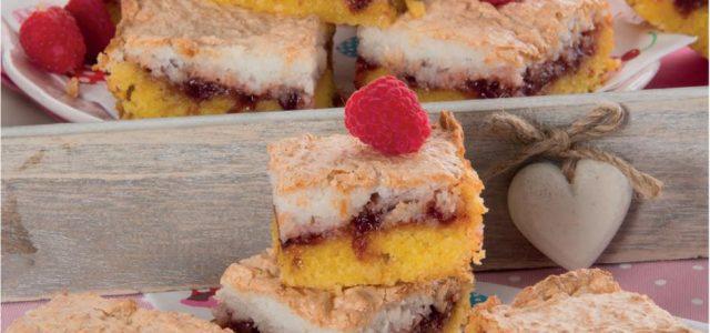 Torta rustica ai mirtilli e cocco