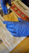 kennismakingsworkshop TULIP leatherwork antiquen.