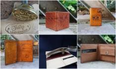 TULIP leatherwork cursus portemonnee maken